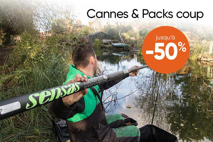 Cannes et packs coup Braderie