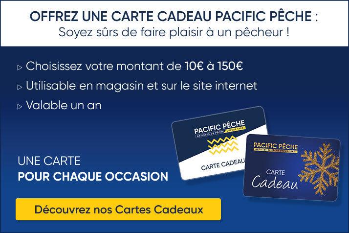 Carte Cadeau Pacific Pêche