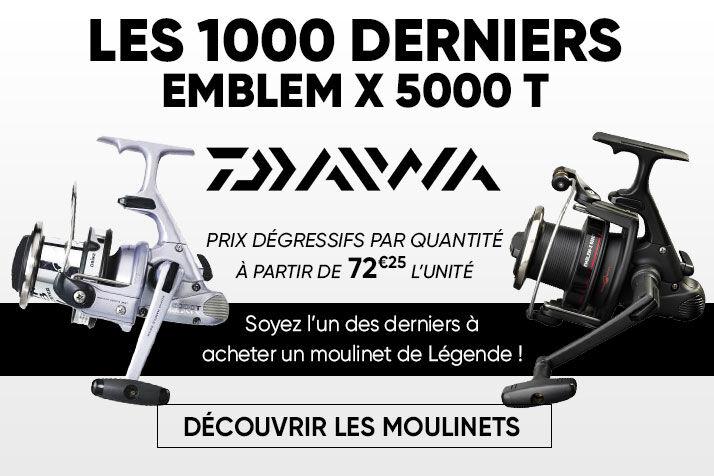 Moulinets daiwa emblem X