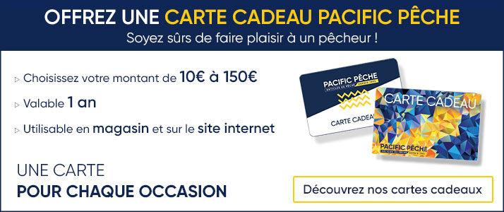 Offrez une carte cadeau PacificPêche