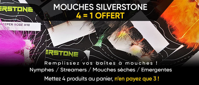 Mouches SILVER STONE