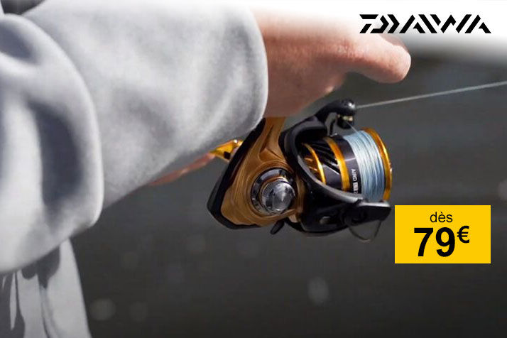 Exclusivité: moulinet Daiwa AIRD LT