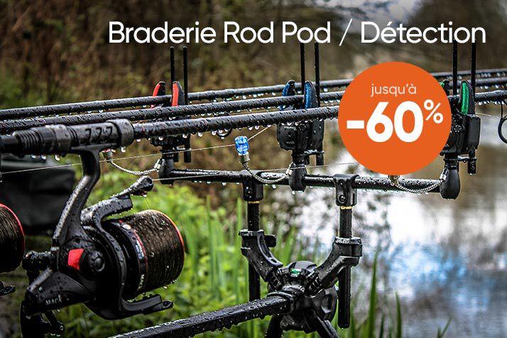 Braderie Rod Pod et Détection jusqu'à -60%