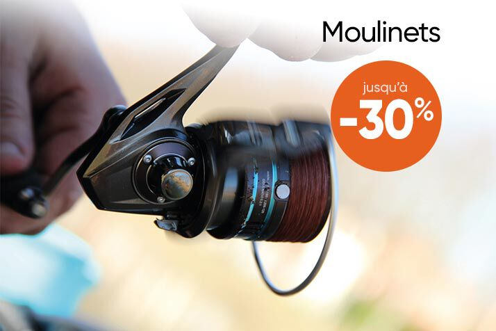 Moulinets Coup en braderie