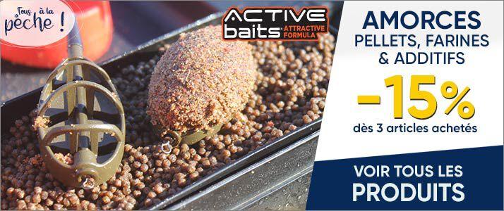 -15% amirces Active baits