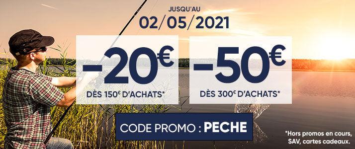 Code promo pêche