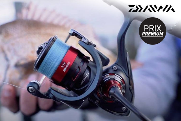 Exclusivité : moulinet Daiwa Kix LT