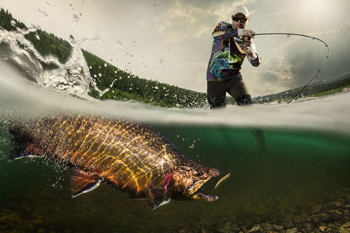Leurres à Truite Pacific Pêche