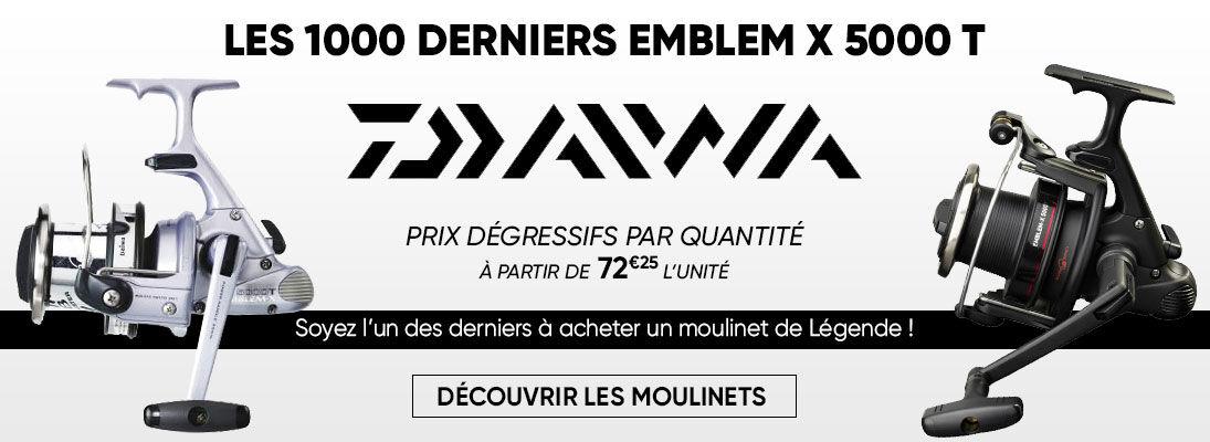 Les 1000 derniers emblem X Daiwa