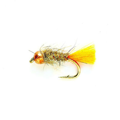 Mouche silverstone nymphe tag orange h12 (x3) - Nymphes | Pacific Pêche
