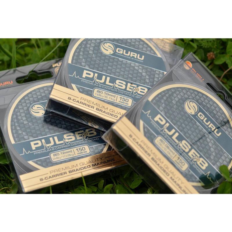 Tresse coup guru pulse-8 150m - Tresses | Pacific Pêche