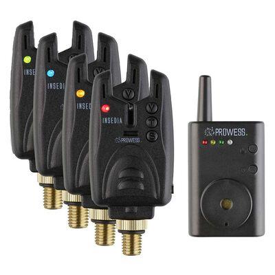 Coffret prowess 4 détecteurs insedia + centrale - Coffrets détecteurs | Pacific Pêche