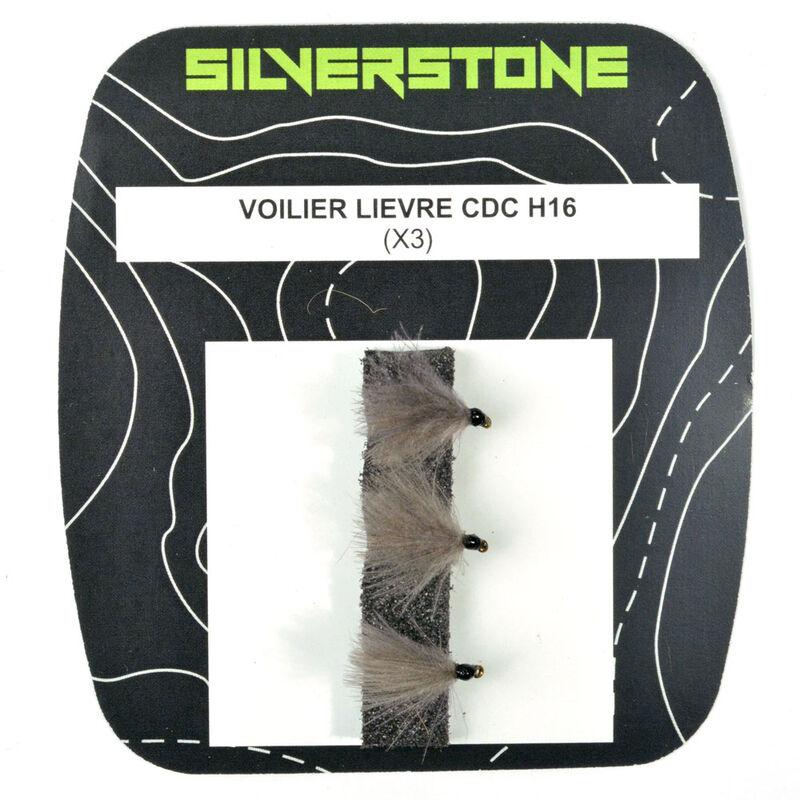 Mouche sèche silverstone voilier lièvre cdc (x3) - Sèches | Pacific Pêche