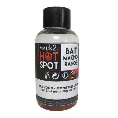 Additif liquide mack2 hot spot monster crab 50ml - Additifs | Pacific Pêche