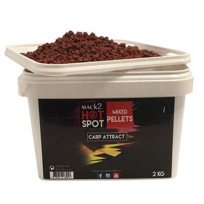 Seau pellets mack2 mixed carp attract pellets 2kg - Amorçages | Pacific Pêche