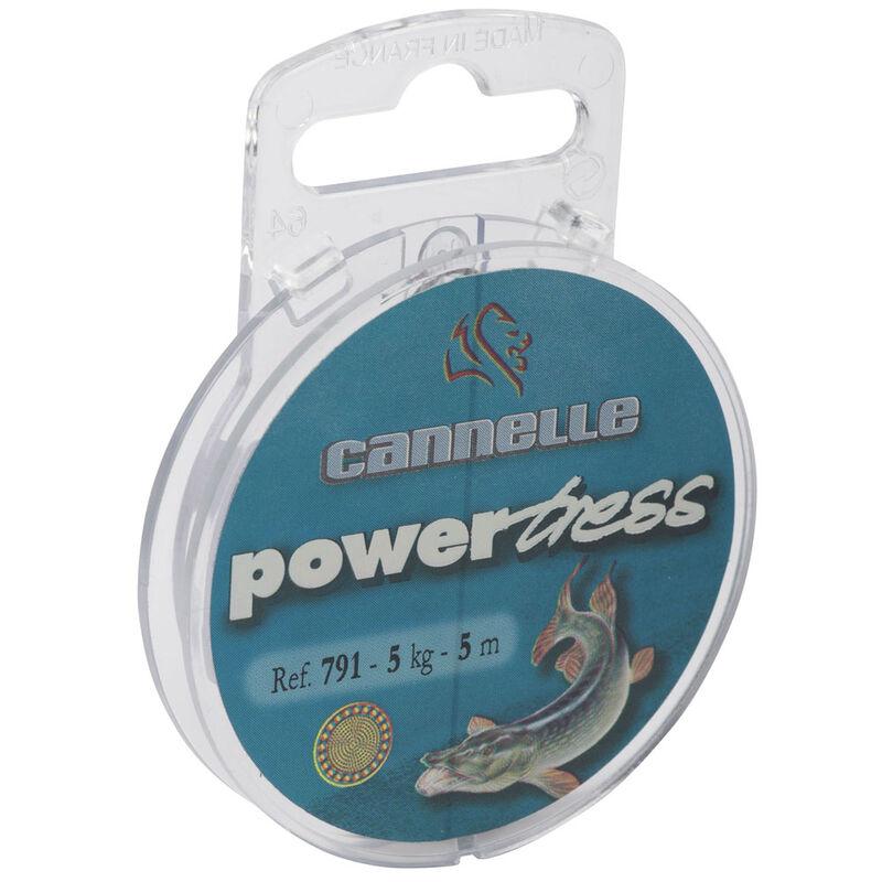 Tresse à bas de ligne carnassier cannelle powertress c791 5m - Bas de ligne tresse | Pacific Pêche