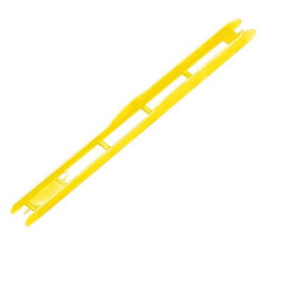Plioirs pour lignes montées coup rive jaune 26x1.8cm (x5) - Plioirs | Pacific Pêche