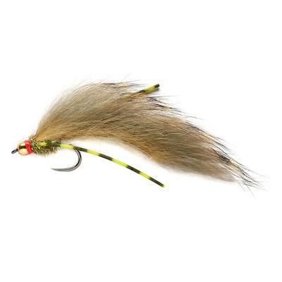Streamer silverstone zonker flex olive h8 (x3) - Streamers   Pacific Pêche