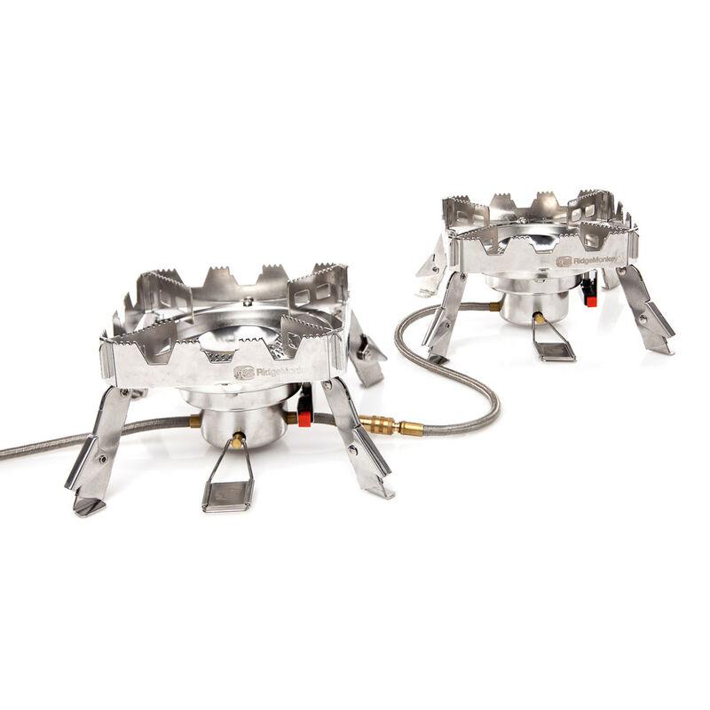 Réchaud carpe ridge monkey quad connect stove (full set) - Chauffages/Réchauds   Pacific Pêche