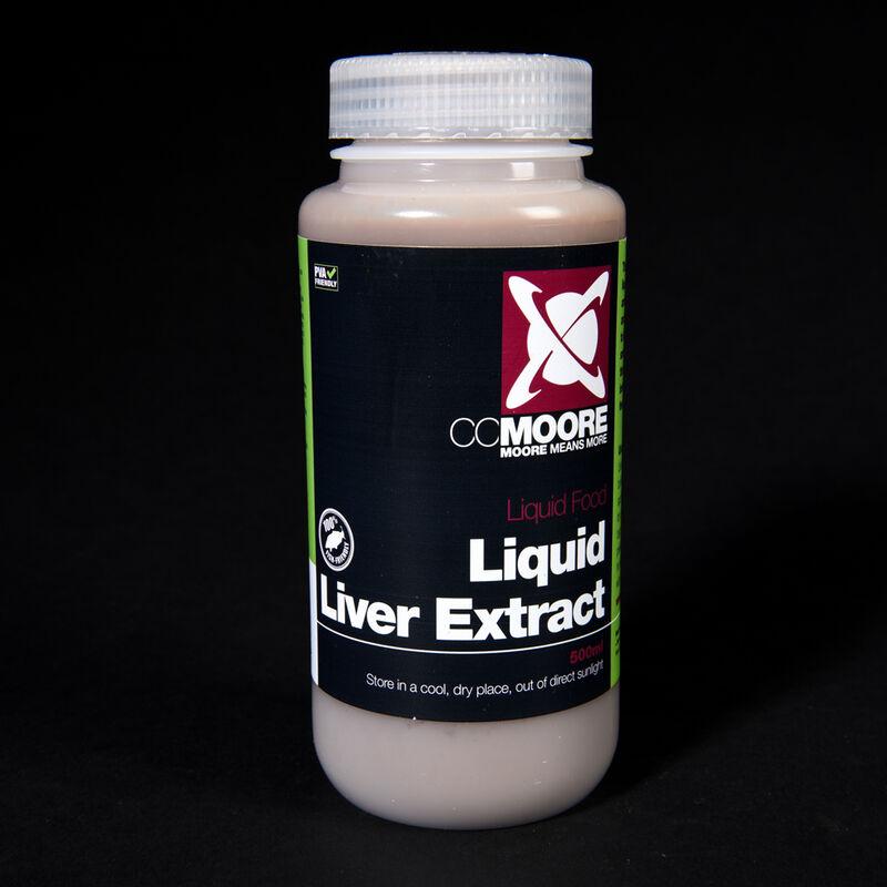 Liquide de trempage carpe cc moore liquid liver extract 500ml - Liquides de trempage   Pacific Pêche