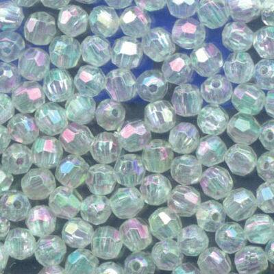 Perles dures flashmer perles à facettes nacrees ( pochette de 50 perles) - Perles | Pacific Pêche