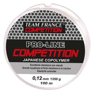 Nylon coup team france competition 100m - Monofilaments | Pacific Pêche
