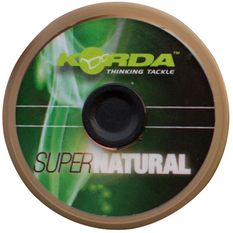 Tresse à bas de ligne carpe korda super natural 18lbs - Tresse BDL | Pacific Pêche