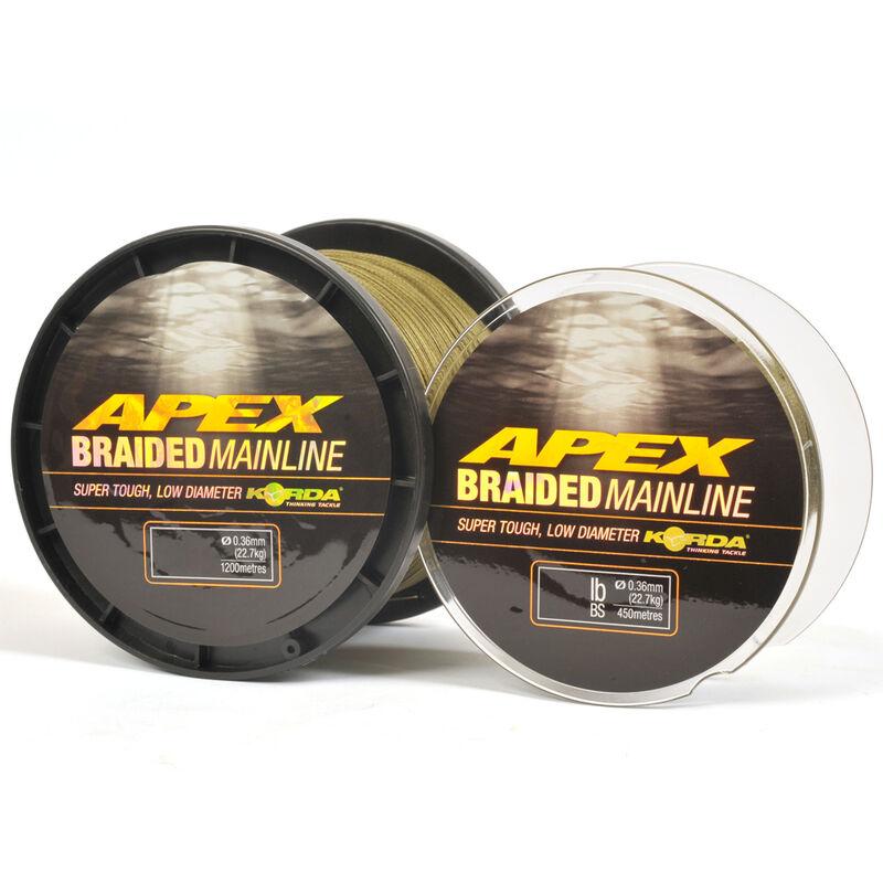 Tresse carpe korda apex braided mainline 450m - Tresse | Pacific Pêche