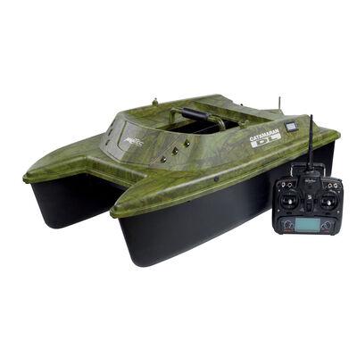 Bateau amorceur carpe anatec catamaran dl oak + telecommande devo7 - Bateaux Amorceurs | Pacific Pêche