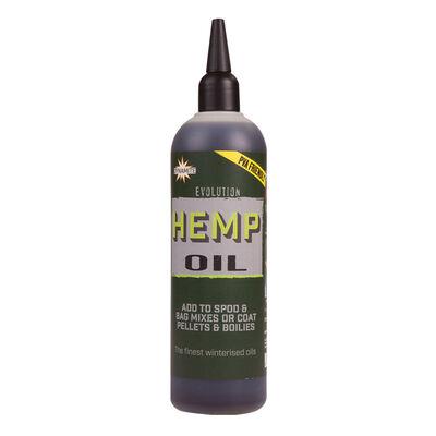 Huile carpe dynamite baits evolution oil hemp 300ml - Boosters / dips   Pacific Pêche