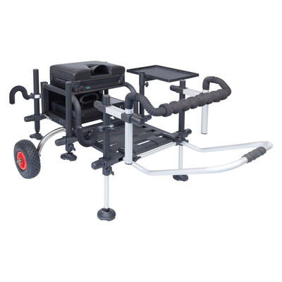 Pack station rive st8 2.0 full black d36 + accessoires - Stations | Pacific Pêche