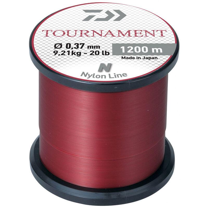 Fil nylon daiwa tournament rouge 1200m - Nylons | Pacific Pêche