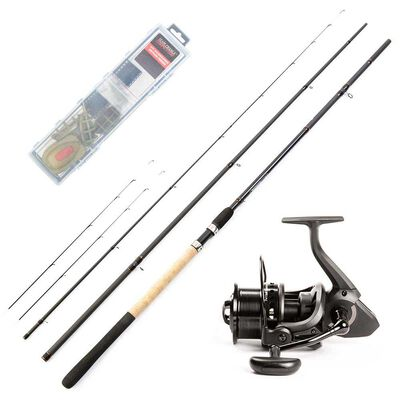 Pack method feeder team france canne + moulinet + kit - Ensembles feeder | Pacific Pêche