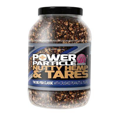 Graines cuites carpe mainline power plus particles nutty hemp & tares 3l - Prêtes à l'emploi | Pacific Pêche