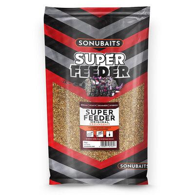 Amorce sonubaits super feeder original 2kg - Amorces | Pacific Pêche