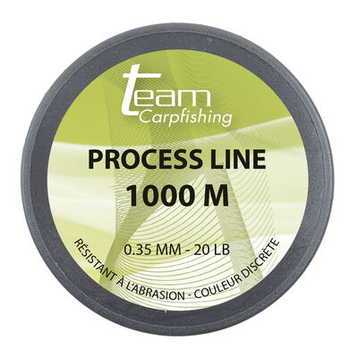 Nylon carpe team carpfishing process line 1000m - Monofilament | Pacific Pêche