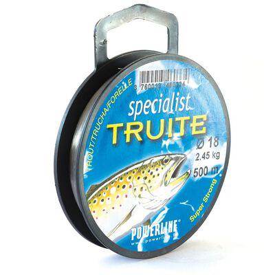 Nylon powerline spécialist truite 500m - Fils-nylons | Pacific Pêche