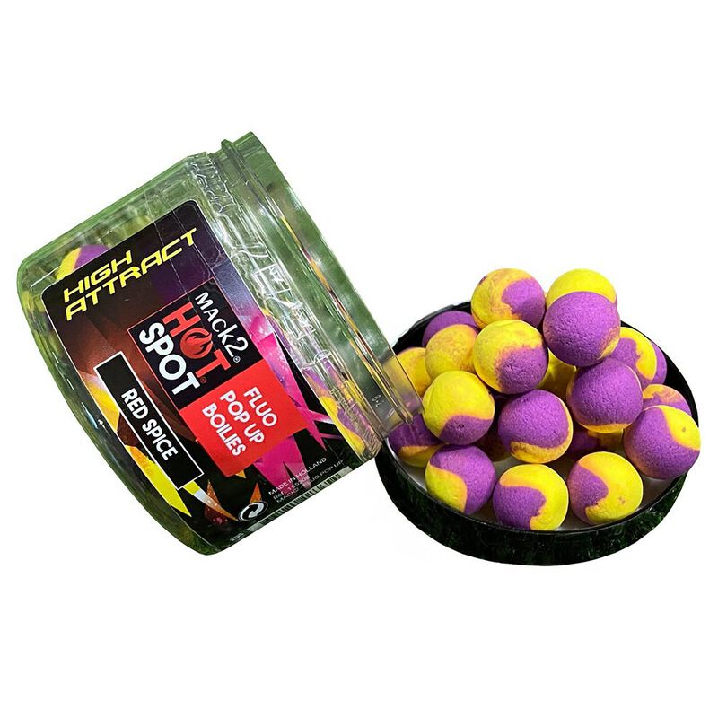 Pack week end mack2 high attract red spice 5kg + booster + popup - Packs | Pacific Pêche