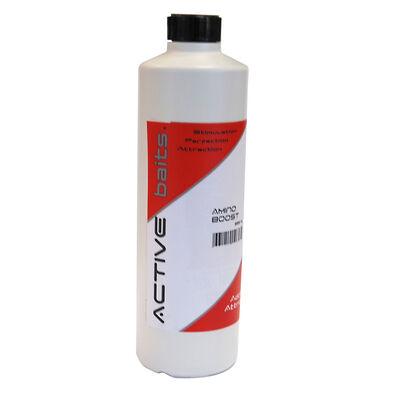Additif liquide coup active baits amino boost chenevis 500ml - Additifs | Pacific Pêche