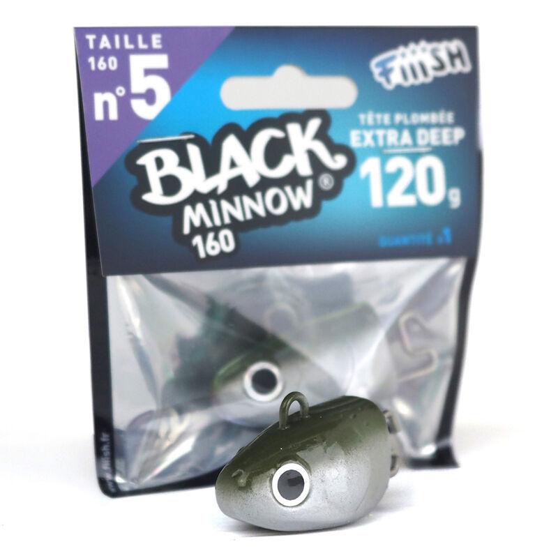 Tete plombee fiiish black minnow160 extra deep 120g (x1) - Têtes Plombées | Pacific Pêche