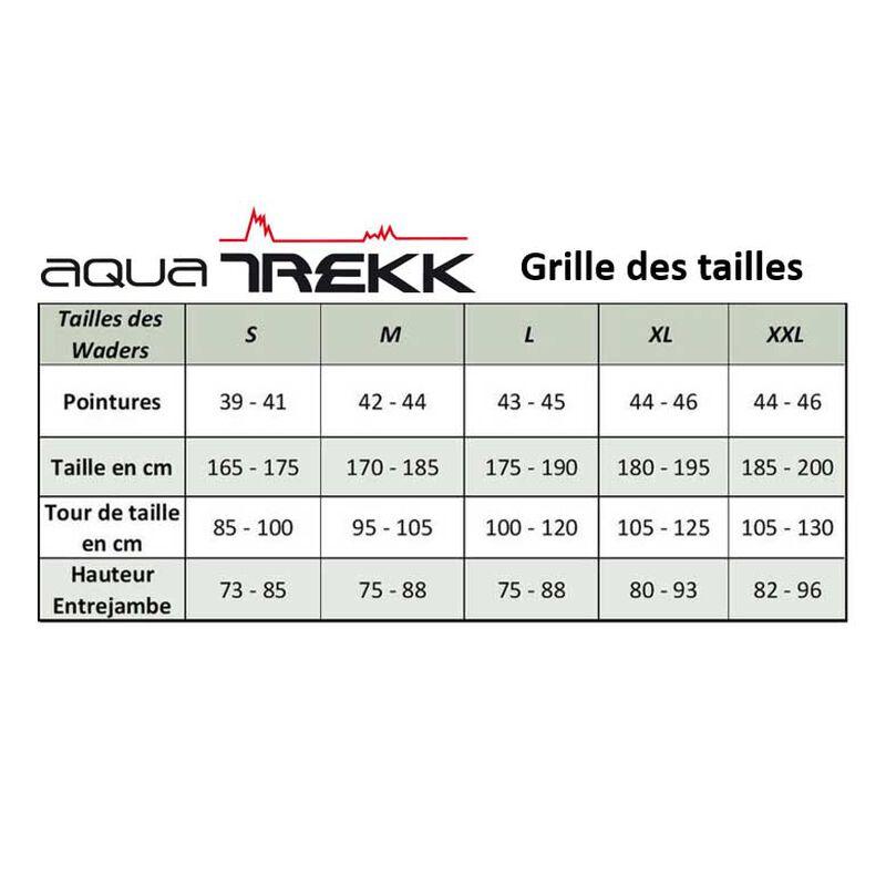 Waders neoprene aquatrekk avec chaussons + guêtres intégrées - Waders | Pacific Pêche