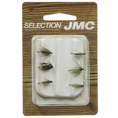 Kit de mouches jmc sélection noyées (6 mouches) - Kit Mouches   Pacific Pêche