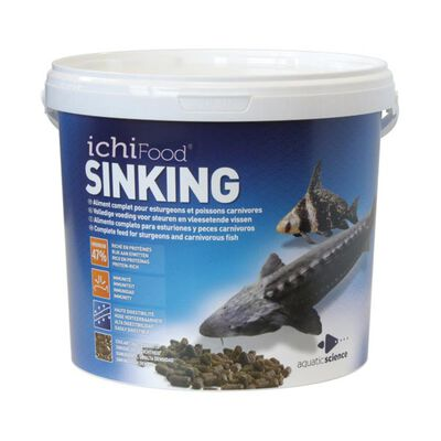 Aliment ichifood sinking 3mm 3.5kg - Alimentation et soin du poisson | Pacific Pêche