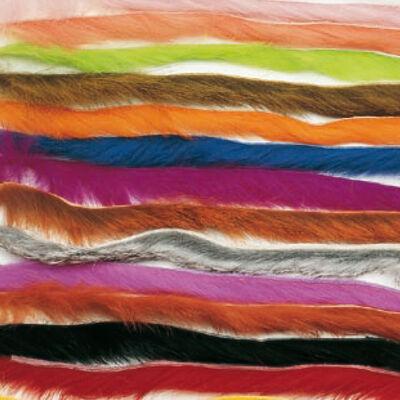 Fly tying poils jmc assortiment rabbit strip - Poils | Pacific Pêche