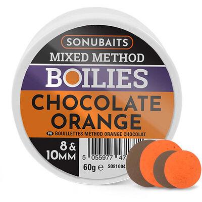 Bouillettes sonubaits mixed method chocolat orange - Eschage | Pacific Pêche