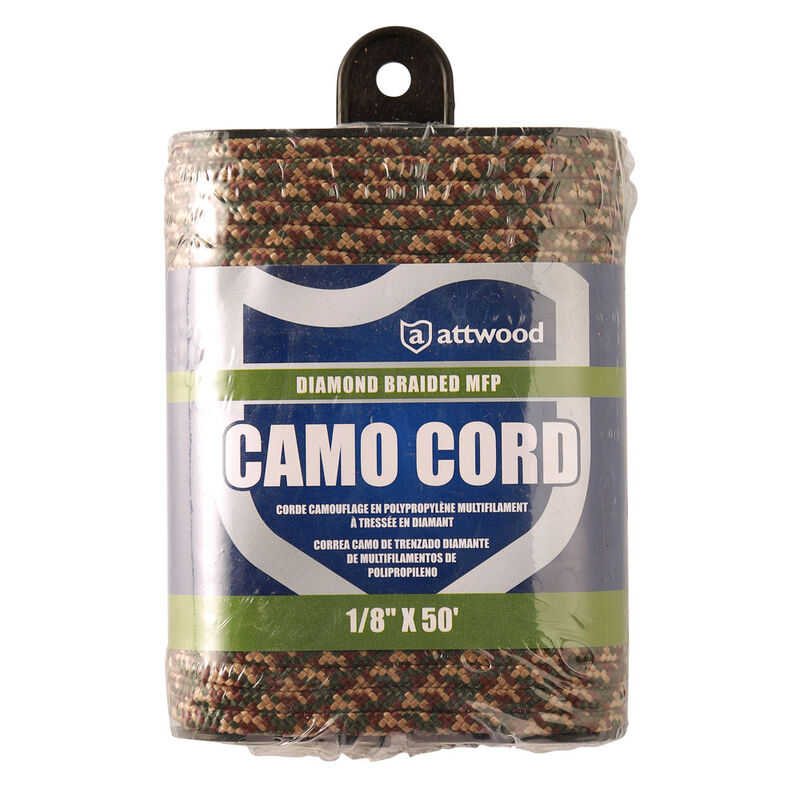 Corde camo 3mm 30m diamond braided attwood - Cordages/Chaines | Pacific Pêche