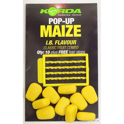 Grains de maïs artificiels carpe korda pop up maize ib - Imitations | Pacific Pêche