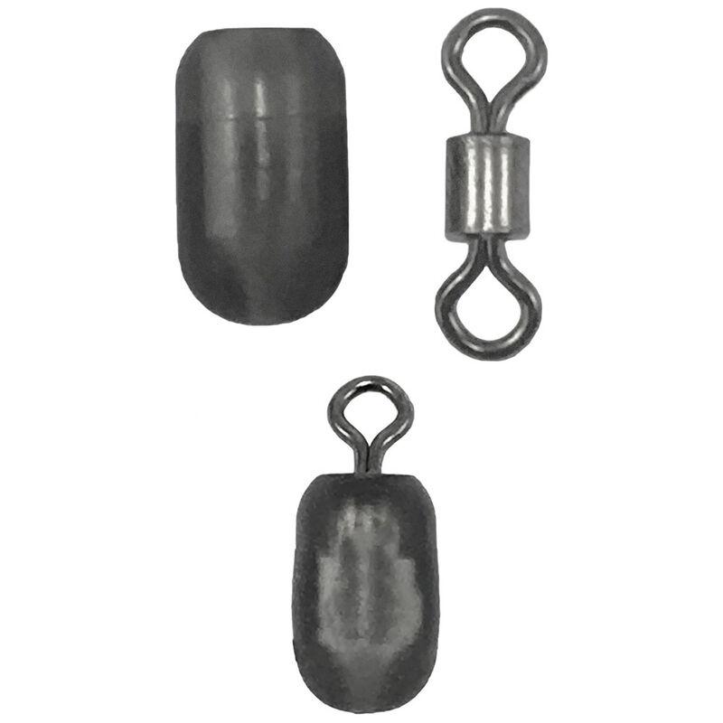 Emerillon amortisseur daiwa feeder n'zon (10 pièces par pochette) - Emerillons / Agrafes / Perles | Pacific Pêche