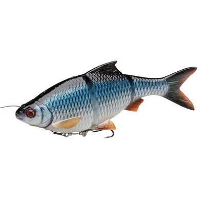 Leurre souple swimbait savage gear 4d linethru 18cm 80g ss - Leurres swimbaits | Pacific Pêche