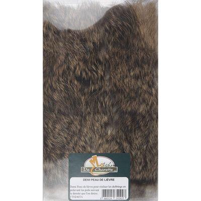 Fly tying poils jmc demi peau de lièvre - Poils | Pacific Pêche